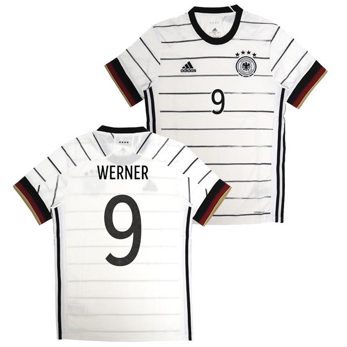 ドイツ代表 2020 ホーム 半袖 ユニフォーム No.9 ヴェルナー【adidas/アディダス】(EH6105/9W)